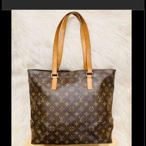 Authentic Louis Vuitton Cabas Mezzo #6.7n TH 0072